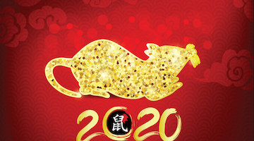 """Year of the Rat"" Chinese New Year 2020"